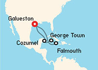 Cozumel, George Town y Falmouth (8 días)